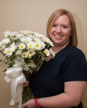 Jamie Rice, RN, Named May DAISY Awardee