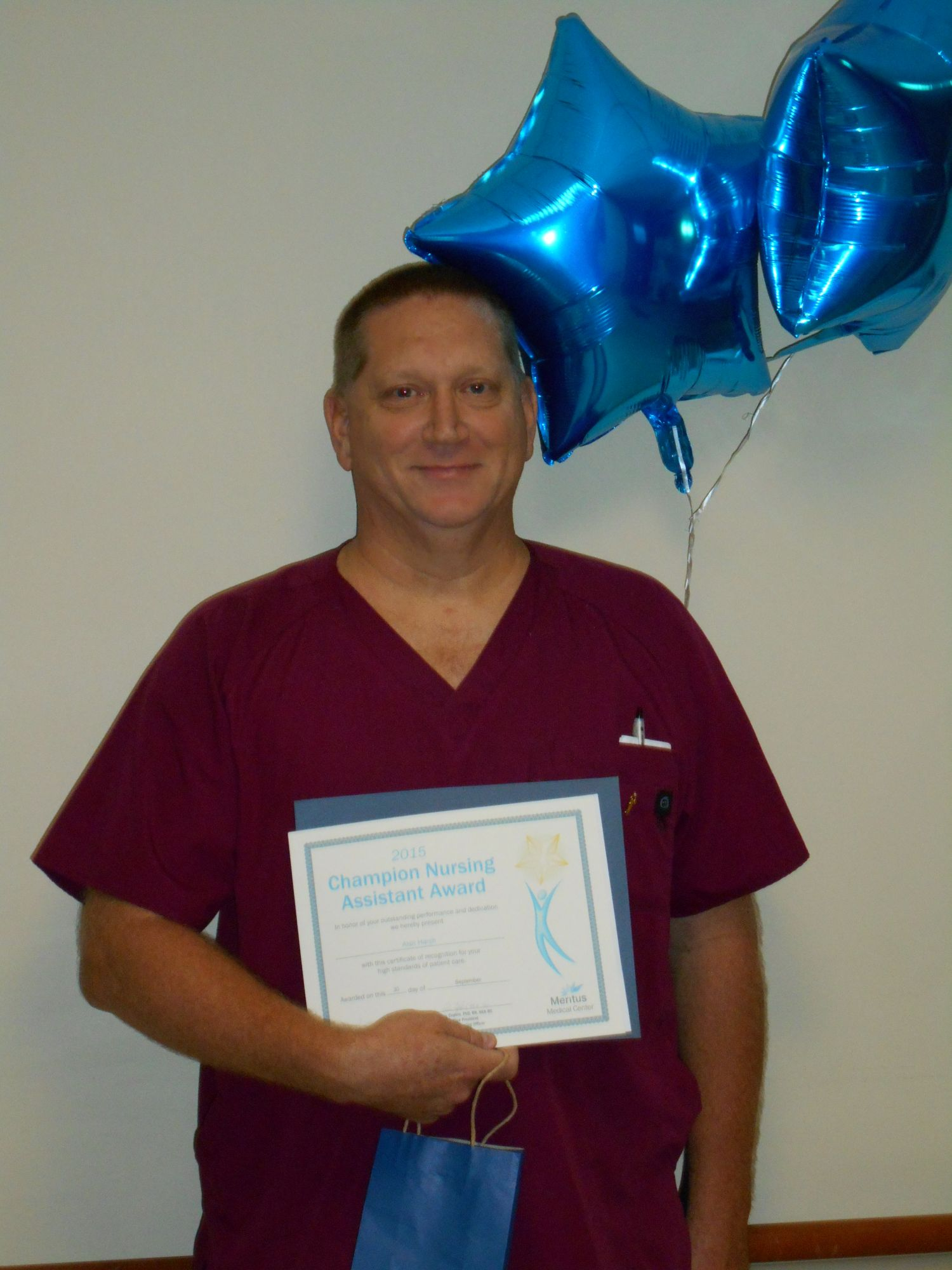 Champion Nursing Assistant Named for the Fall