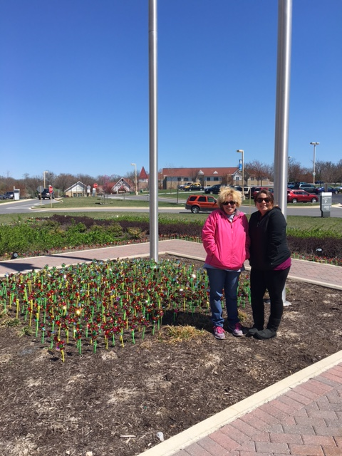 Pinwheels Planted to Keep Child Abuse Prevention Top of Mind