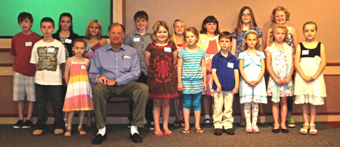 Meritus recognizes elementary students for safety art